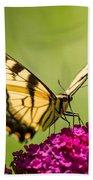 Tiger Swallowtail Bath Towel