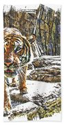 Tiger View Bath Towel