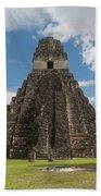 Tikal Pyramid 1j Bath Towel