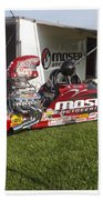 Tim Irwin Dragster Bath Towel