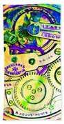 Time In Abstract 20130605m144 Square Bath Towel