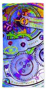 Time In Abstract 20130605m36 Square Bath Towel