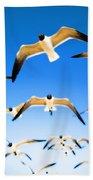 Timeless Seagulls Bath Towel