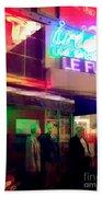 Times Square At Night - Le Funk Bath Towel