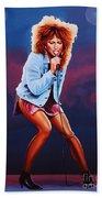 Tina Turner Bath Towel by Paul Meijering