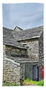 Tintagel Post Office  Bath Towel