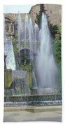 Tivoli Garden Fountain Bath Towel