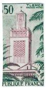 Tlemcen Great Mosque Bath Towel