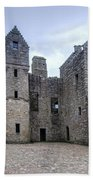 Tolquhon Castle 4 Bath Towel