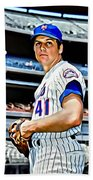 Tom Seaver Bath Towel