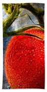 Tomato On A Vine Bath Towel