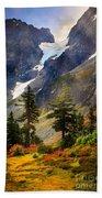 Top Of Cascade Pass Bath Towel