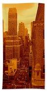 Top Of Manhattan Hand Towel