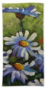 Top Of The Bunch Daisies By Prankearts Bath Towel