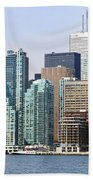 Toronto Downtown Bath Towel