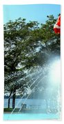 Toronto Island Fountain Bath Towel