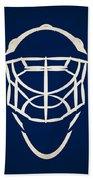 Toronto Maple Leafs Goalie Mask Bath Towel