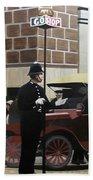 Toronto Traffic Cop 1912 Bath Towel