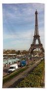 tour Eiffel Hand Towel