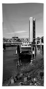 Tower Bridge Sacramento Bath Towel