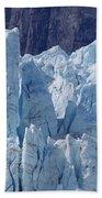 Tower In Margerie Glacier Bath Towel
