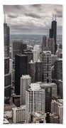 Towers Of Chicago Hand Towel