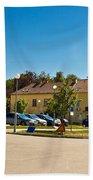 Town Of Vrbovec In Croatia Bath Towel