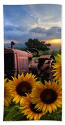 Tractor Heaven Bath Towel