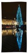 Trafalgar Christmas Tree Bath Towel