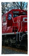 Train - Canadian Pacific 5690 Bath Towel