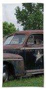 Transportation - Classic - Highway Patrol Bath Towel