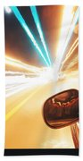 Traveling At Speed Of Light Bath Towel
