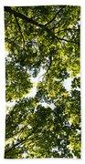 Tree Canopy Bath Towel