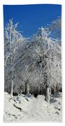 Tree Ice Bath Towel