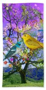 Tree Of Happiness Bath Towel