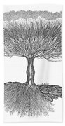 Tree Of Living Bath Towel