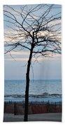 Tree On Beach Bath Towel
