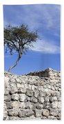 Tree On The Wall Bath Towel