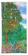 Tree Poem Bath Towel