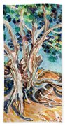 Tree Roots Bath Towel