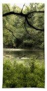 Tree Silhouette Bath Towel