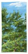 Tree Bath Towel
