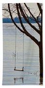 Tree With A Swing Bath Towel