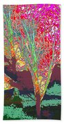 Trees Around Faal Season  Digitally Painted Photograph Taken Around Poconos  Welcome To The Pocono M Bath Towel