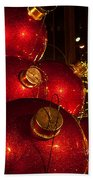 Trees Lights And Ornaments Bath Towel