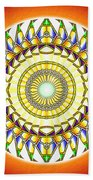 Tribal Magnetism Bath Sheet by Derek Gedney