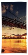Triboro Sunset Bath Towel