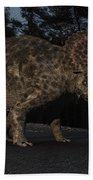 Triceratops Bath Towel
