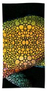 Tropical Fish Art 14 By Sharon Cummings Bath Towel