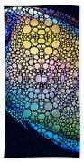 Tropical Fish Art 6 - Painting By Sharon Cummings Bath Towel